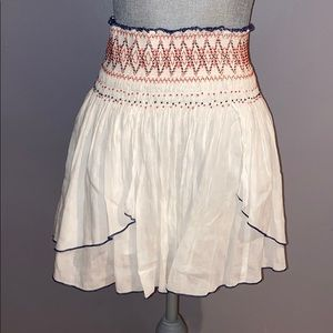Woman's Free People High Waisted Flowy Skirt M